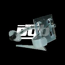 BOERENKLINKSTEL + INSLAGNEUS 120X85 ZN