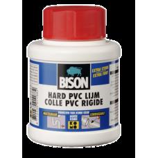 BISON HARD PVC LIJM BOT 250ML*6 NLFR