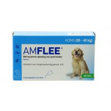 AMFLEE HOND LARGE 3X268MG. 20-40KG.