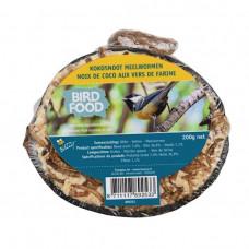 BIRD FOOD HALVE KOKOSNOOT MEELWORMEN INCL.DISPLAY (36)