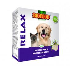 BIOFOOD RELAX ANTI-STRESS HOND/KAT 100 ST